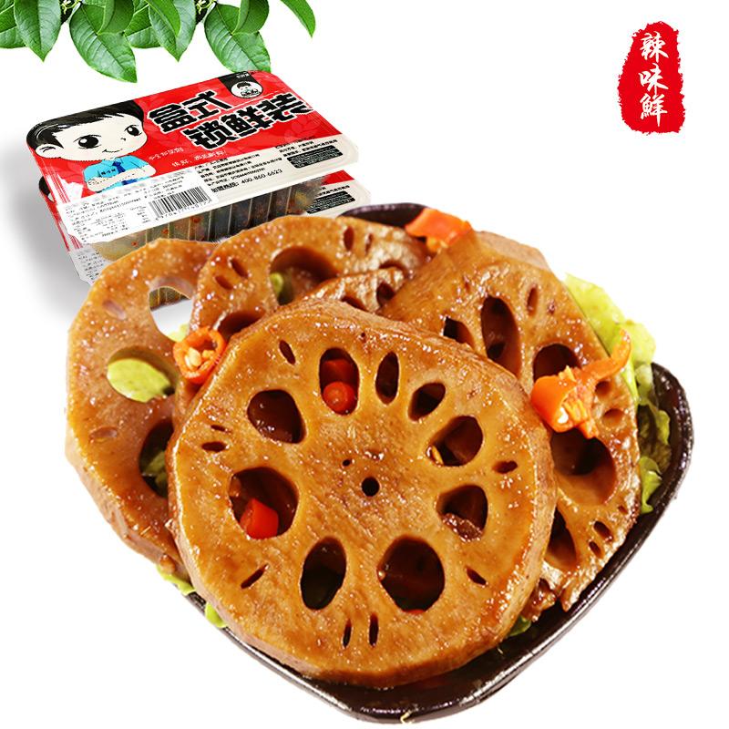 澳门金莎(锁鲜装)辣卤莲藕 250g X 1盒